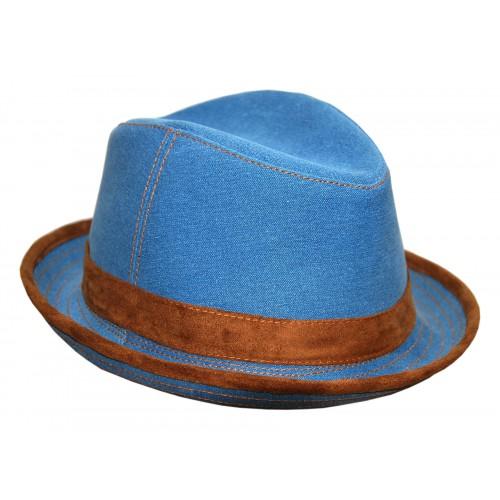 Шляпа джинса кант