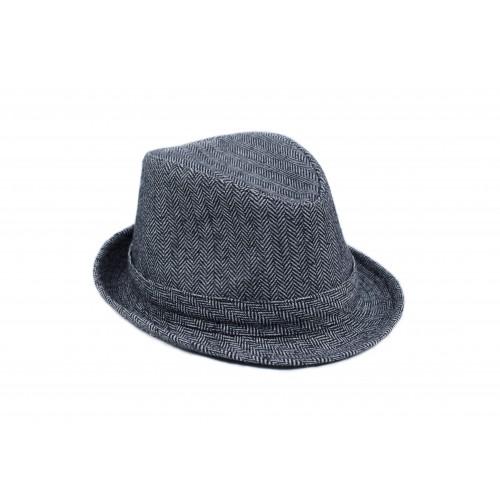 Шляпа твидовая (вточное дно)