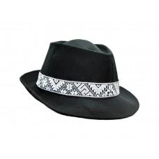 Шляпа этно лен