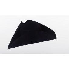 Треуголка шитая тканевая